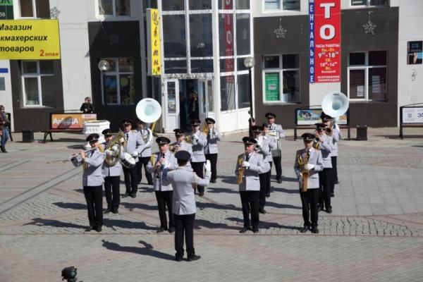 оркестр, МВД Югры, флешмоб Фото: