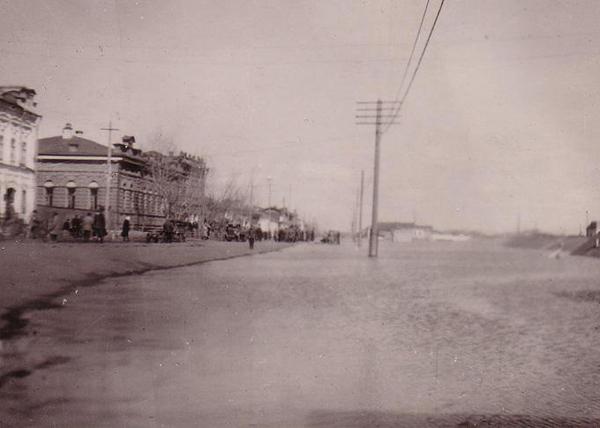 паводок в Кургане, 1947 год|Фото: Государственный архив Курганской области