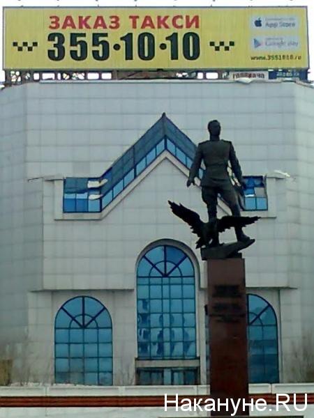 Покрышкин, Новосибирск, реклама|Фото: Накануне.RU