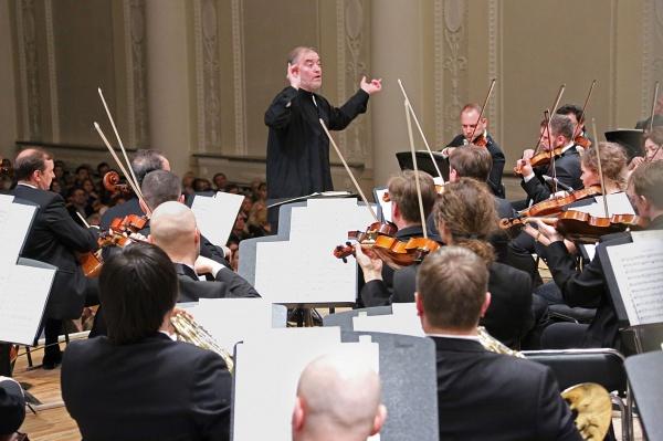 Симфонический оркестр, Мариинский театр, Валерий Гергиев|Фото: Департамент информационной политики губернатора