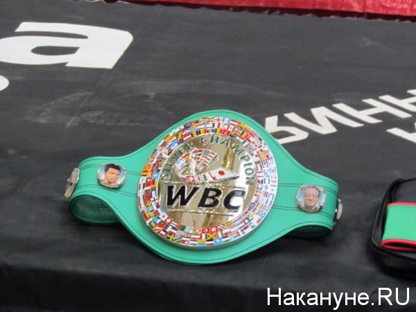 чемпионский пояс бокс|Фото: Накануне.RU