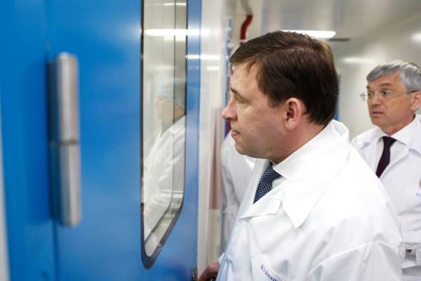 Евгений Куйвашев, Медсинтез|Фото: Департамент информационной политики губернатора