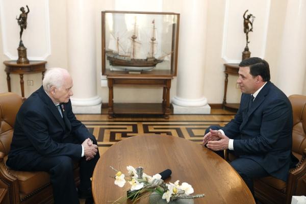 Евгений Куйвашев, Павел Камнев|Фото: Департамент информационной политики губернатора