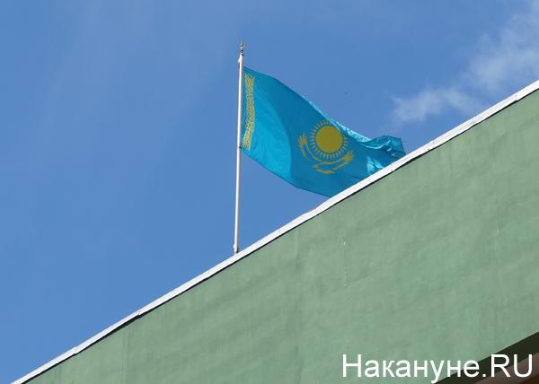 Алма-Ата, флаг Казахстана|Фото: Накануне.RU