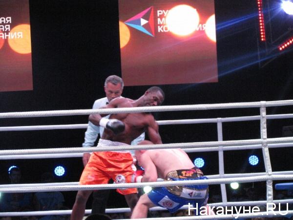 Дмитрий Михайленко Чарльз Манучи бокс|Фото: Накануне.RU