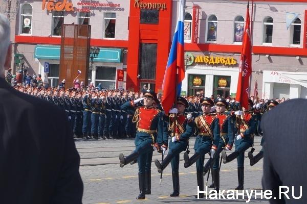 Парад, 9 мая, Екатеринбург|Фото:Накануне.RU