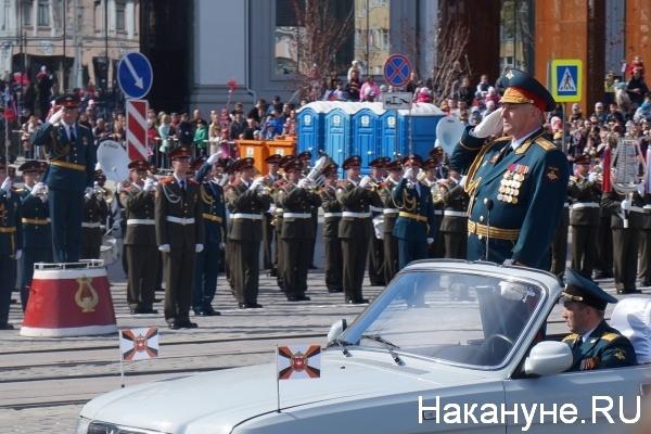 Парад, 9 мая, Екатеринбург, Владимир Зарудницкий|Фото:Накануне.RU