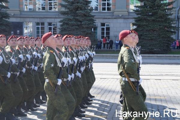 Парад, 9 мая, Екатеринбург, национальная гвардия|Фото:Накануне.RU
