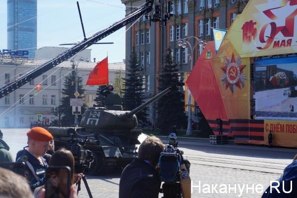 Парад, 9 мая, Екатеринбург, т-34|Фото:Накануне.RU