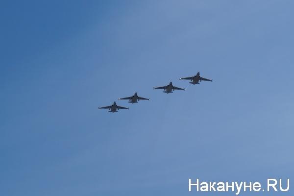 Парад, 9 мая, Екатеринбург, Су-25|Фото:Накануне.RU