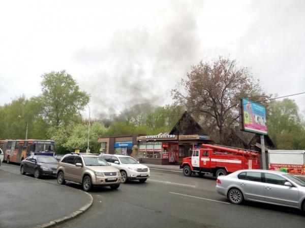 коттедж, Большакова, пожар|Фото:http://vk.com/te_ekb
