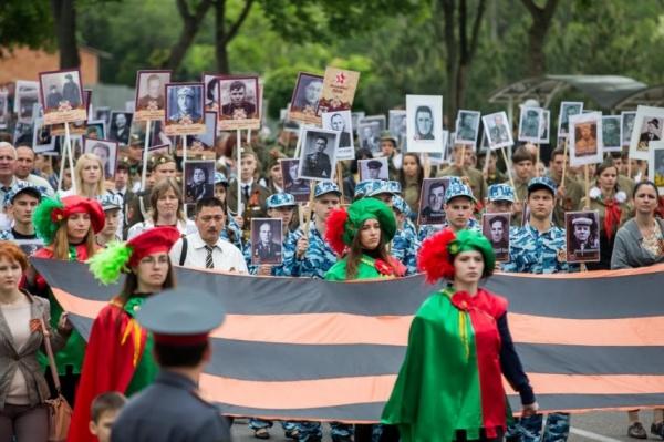 Бессмертный полк, Приднестровье, Тирасполь|Фото: пресс-служба президента ПМР