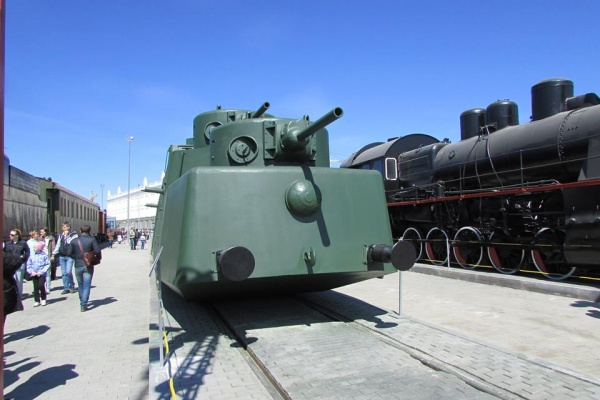 броневой вагон МБВ-2, Музей военной техники УГМК|Фото: УГМК