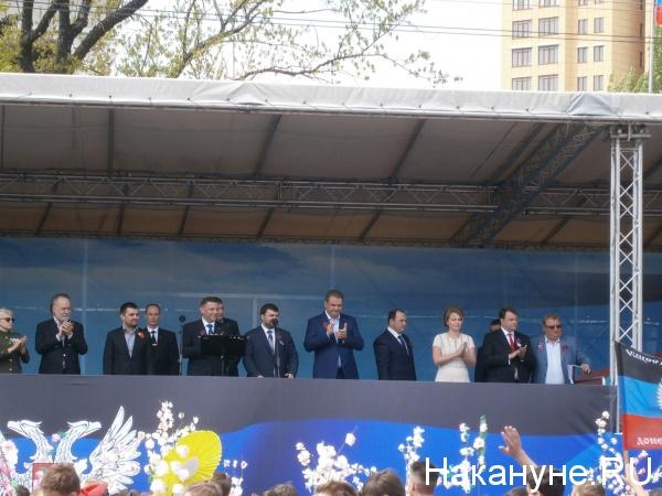 День республики, ДНР, Донецк, Захарченко, Пушилин|Фото: Накануне.RU