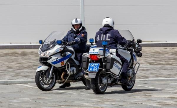 мотополк, ДПС, BMW Фото: ГУ МВД России по СО