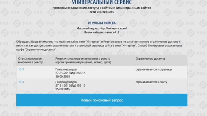 """""""Крым. Реалии"""", ограничение Фото:"""