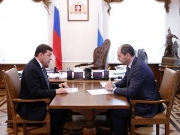 Евгений Куйвашев Денис Паслер|Фото: ДИП губернатора Свердловской области