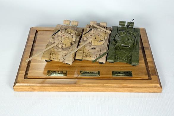 модели танков УВЗ Фото: пресс-служба УВЗ