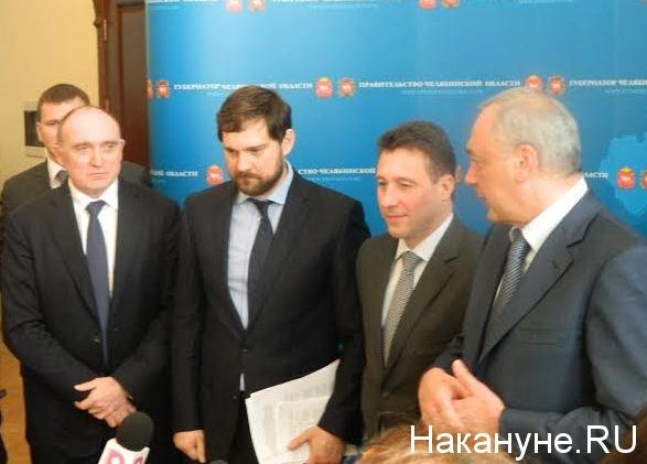 Дубровский, Баринов, Холманских, Магомедов Фото: Накануне.RU