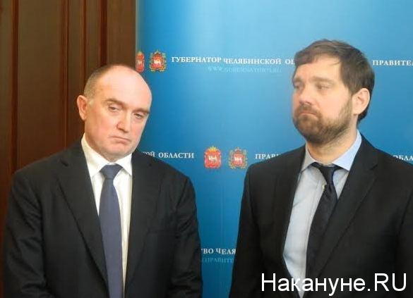 Дубровский, Баринов Фото: Накануне.RU