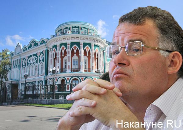 коллаж, Тунгусов, резиденция губернатора Фото: Накануне.RU