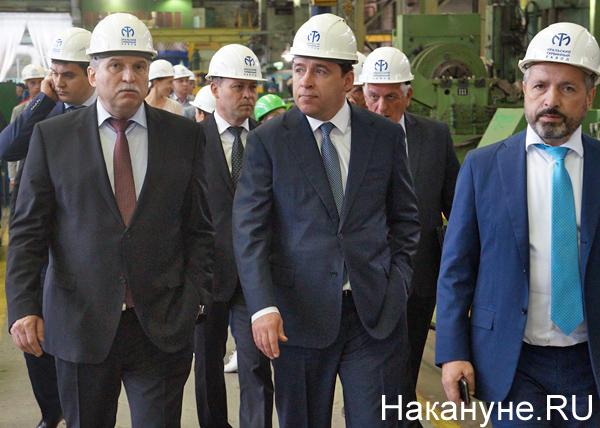 Уральский турбинный завод, УТЗ, Евгений Куйвашев, Михаил Лифшиц|Фото: Накануне.RU