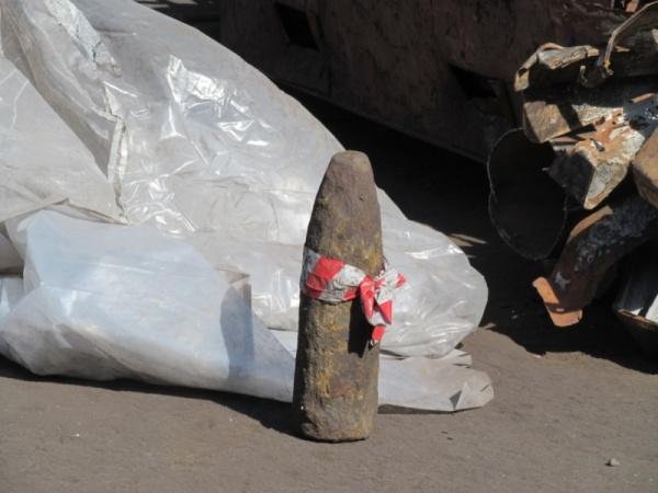 артиллерийский снаряд Фото: ГУ МВД РФ по Свердловской области