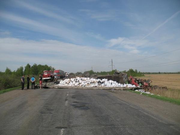 ДТП Ман Курган 22 мая|Фото:ГИБДД УМВД России по Курганской области