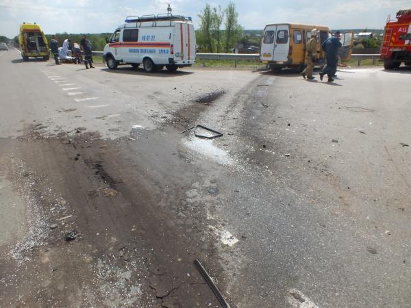 ДТП, трасса Иртыш, КамАЗ и Газель|Фото:ГИБДД УМВД России по Курганской области
