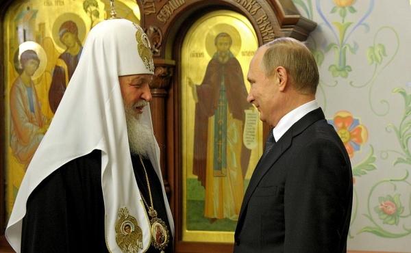 Патриарх Кирилл Владимир Путин|Фото: пресс-служба президента РФ