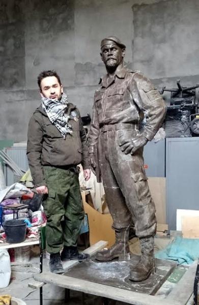 Яснополян, Николай, памятник Мозговому|Фото: Накануне.RU