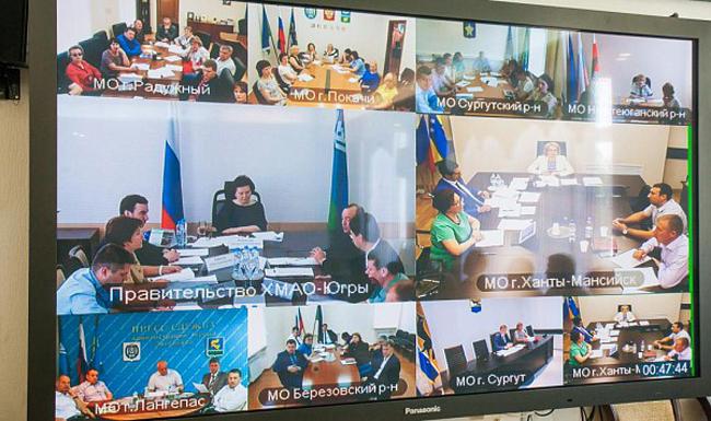 Комарова заседание по инвестдеятельности Фото: admhmao.ru