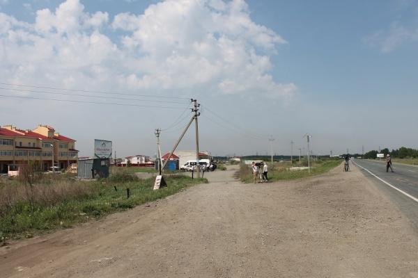 поселок Петроград, Челябинская область, остановка, Фото: ОНФ Челябинская область