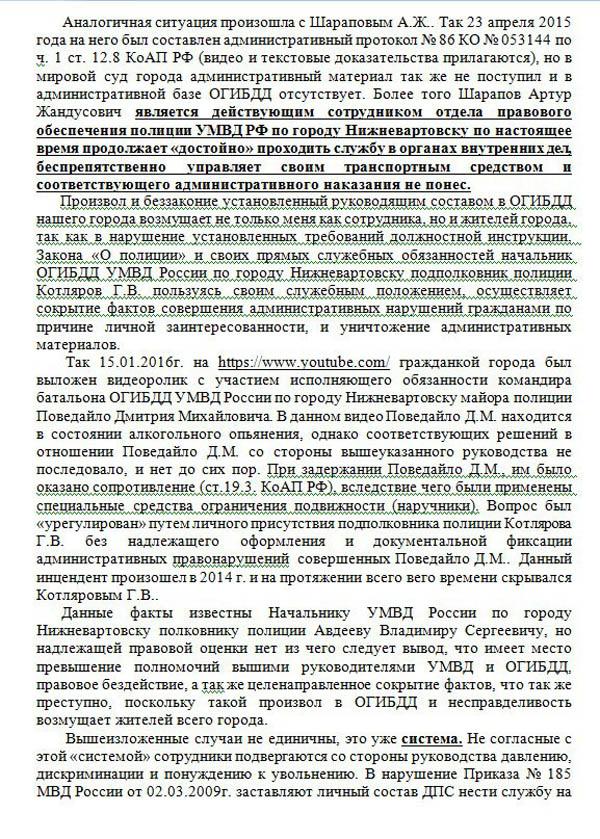 Андрей Ласкин, Нижневартовск, заявление|Фото: ok.ru