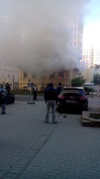 пожар, пожарные, огонь, дым|Фото:http://vk.com/te_ekb