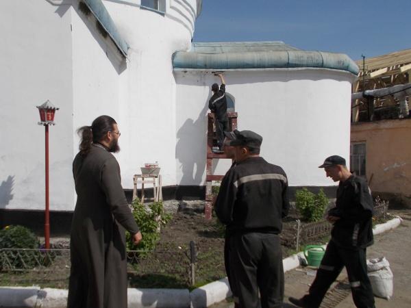осужденные строят храм|Фото:УФСИН России по Челябинской области