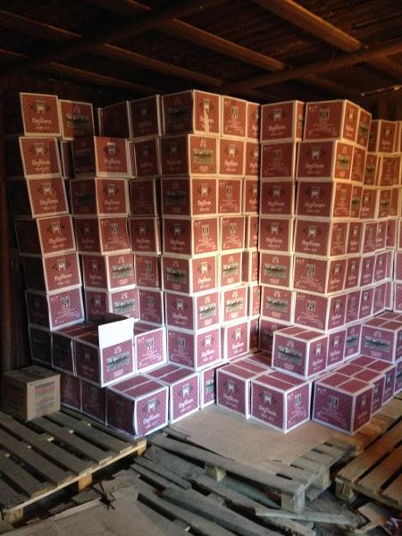 контрафактный алкоголь, цех, склад|Фото: УФСБ по СО