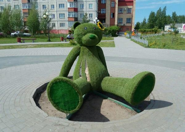 Сургут, городские скульптуры, разрушения|Фото: facebook.com