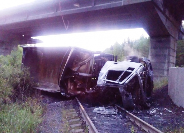 автомобиль опрокинулся|Фото: ГУ МВД России по Свердловской области