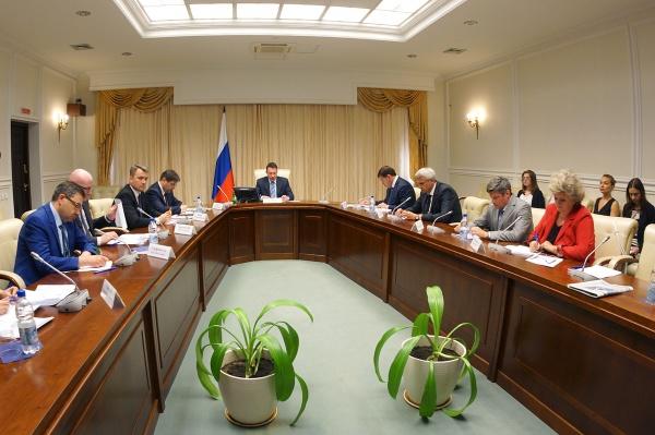 полпредство, Игорь Холманских, совещание|Фото: Департамент информационной политики губернатора