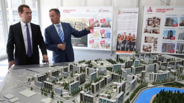 Дмитрий Медведев, Гринфлайт, Академ Riverside,|Фото: пресс-служба губернатора Челябинской области