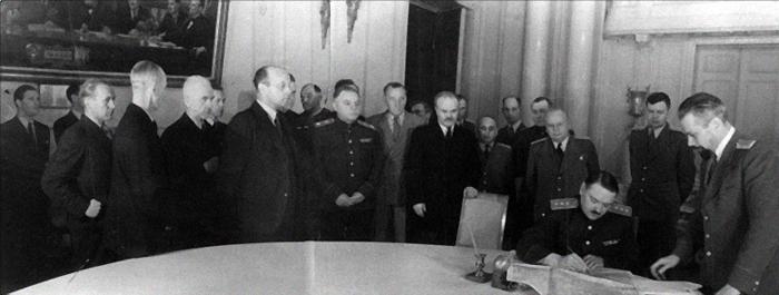 подписание перемирия финляндия ссср 1944|Фото: heninen.net
