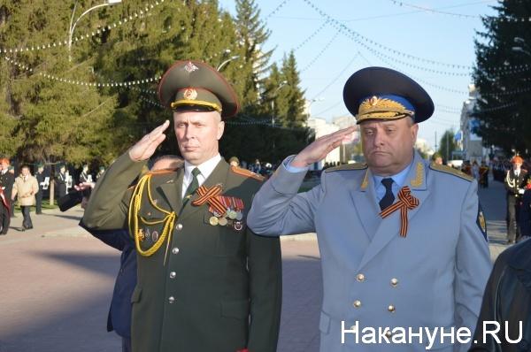 ректор КГСХА Владимир Левитский (справа)|Фото:Накануне.RU
