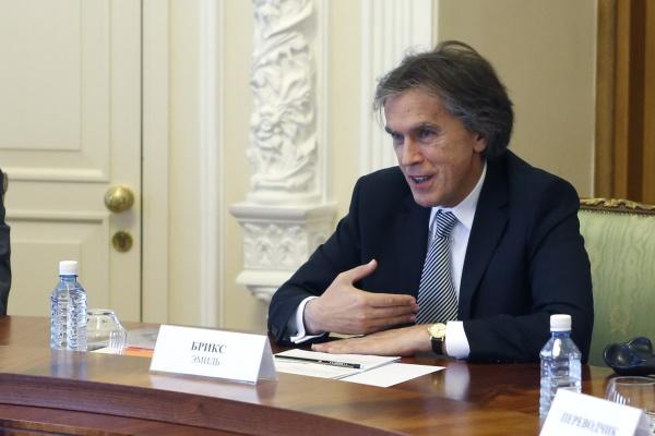 посол Австрии в России Эмиль Брикс Фото: ДИП губернатора Свердловской области